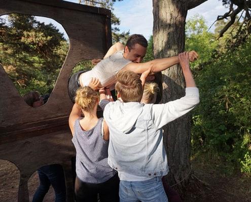 Teambuilding-aktiviteter i Visby Gustavsvik